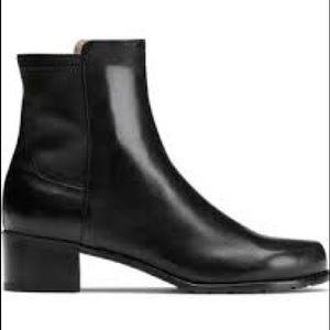 Stuart Weitzman EasyOn Reserve Boots Leather Sz 5